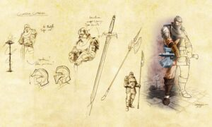 City Guard - DemLoc Board Game - Character - november 2021 Kickstarter
