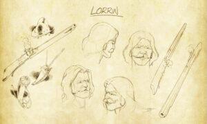 Lorrin - DemLoc Board Game - Kickstarter 2021