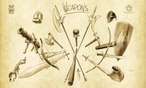 Weapons -DemLoc Board Game - Kickstarter 2021