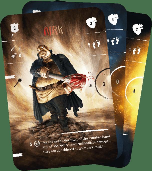 Cards -Demloc Board Game - Kickstarter 2021