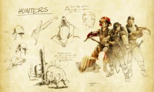 Hunters - DemLoc Board Game - Kickstarter 2021