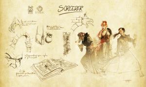 Sorcereres - Demloc Board Game - Kickstarter 2021